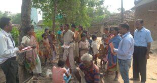 डालसा चला रही जागरूकता अभियान, ग्रामीणों को दिया कानून की जानकारी