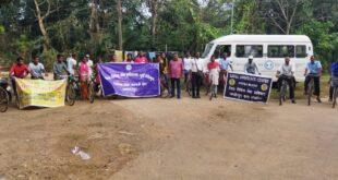 डालसा ने निकाली साईकिल रैली, दिया विधिक जागरूकता का संदेश